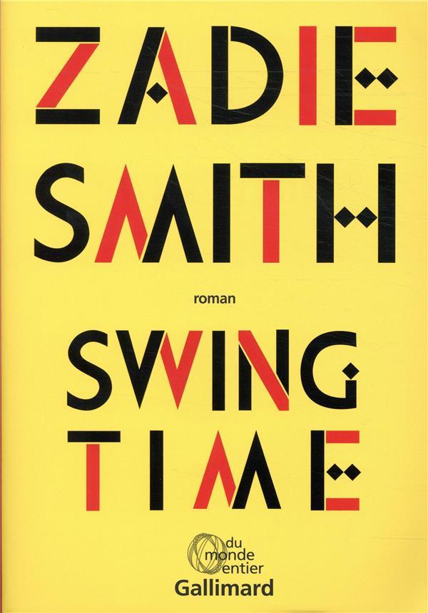 Vente  Swing time  - Zadie Smith