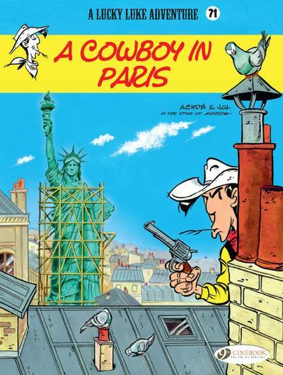 Vente  Lucky Luke T.71 ; a cowboy in Paris  - Achde  - Jul
