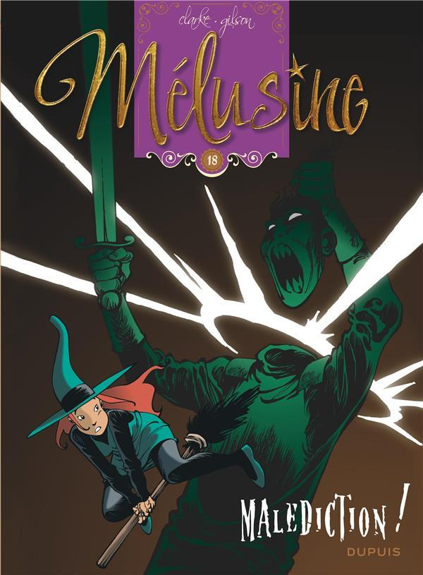 Vente  Melusine - tome 18 - malediction (reedition)  - Gilson/Clarke  - Clarke