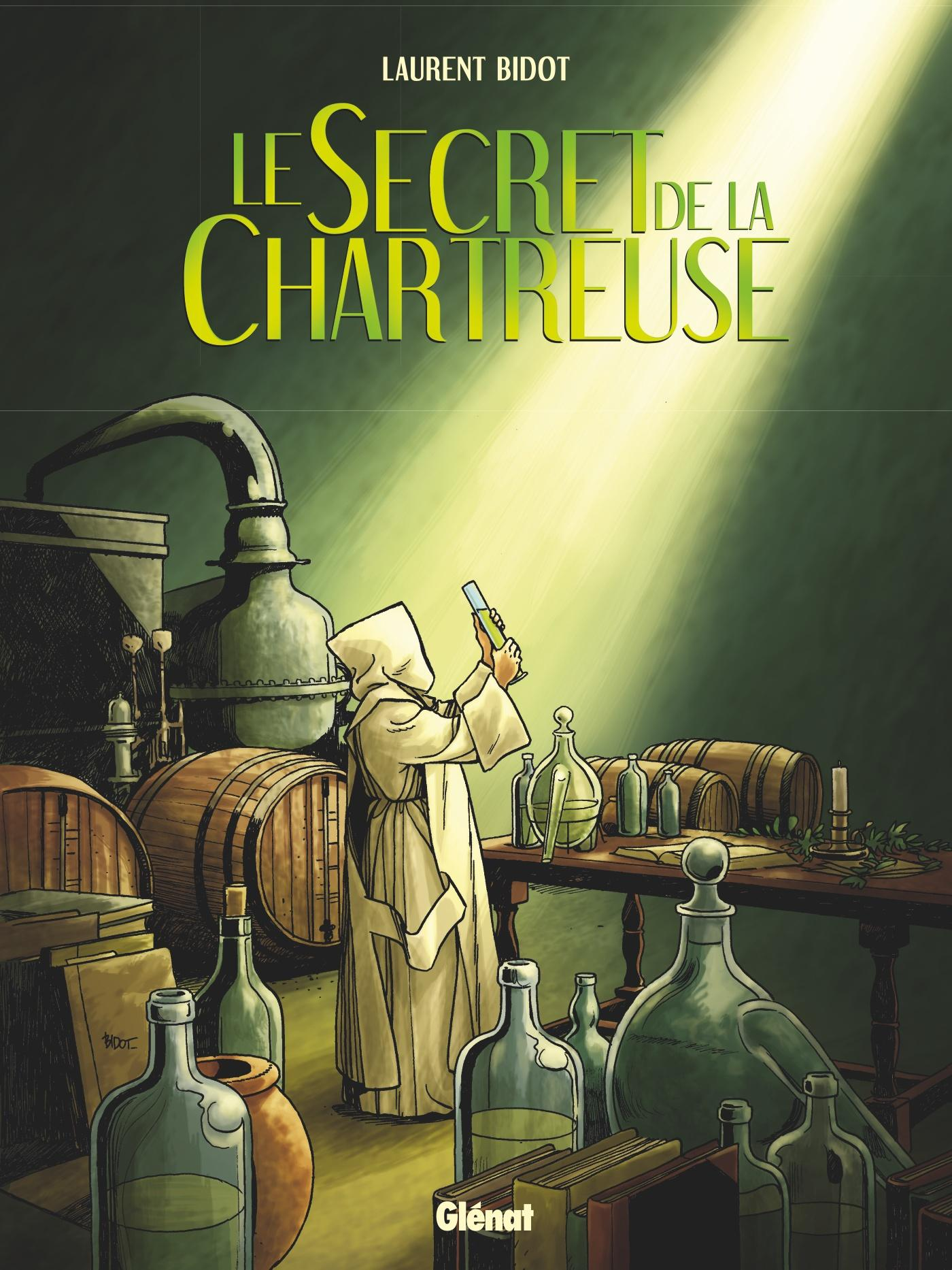 Le secret de la Chartreuse  - Laurent Bidot