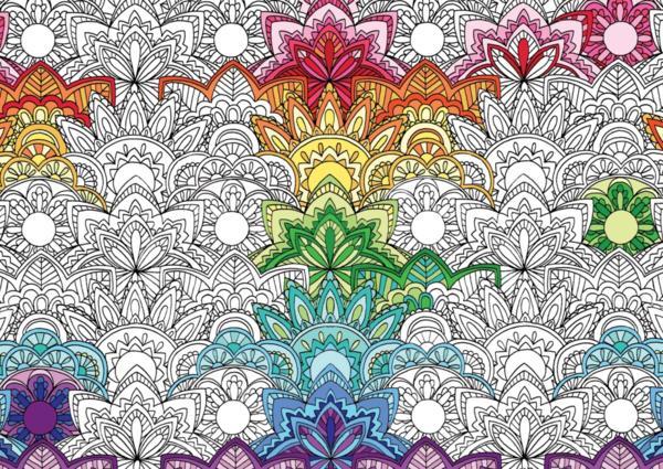 Livre mes fabuleux coloriages t 2 dessins et motifs for Motif dessin