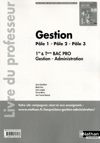 Gestion 1e/Term Bpro (Sp) Prof  - Sylvie Chamillard