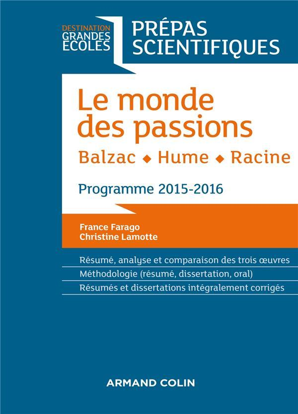 Prépas scientifiques ; français-philosophie ; question (édition 2015/2016)  - Christine Lamotte  - France Farago