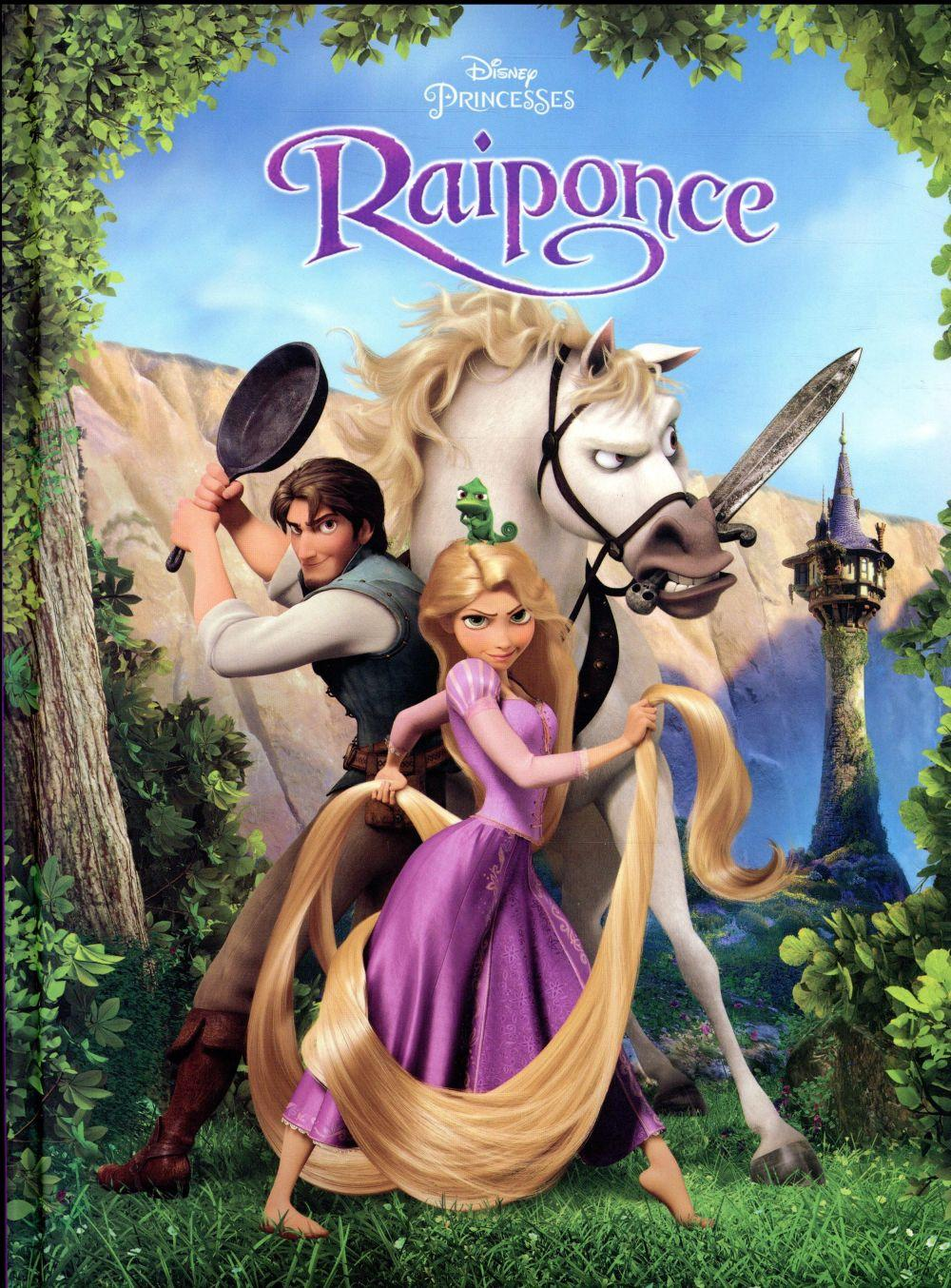 Disney cin ma raiponce disney livre france loisirs - Mechante raiponce ...