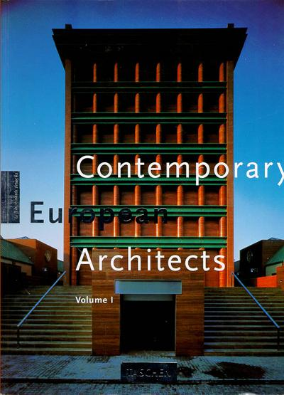 Contemporary european architects volume 1  - Collectif