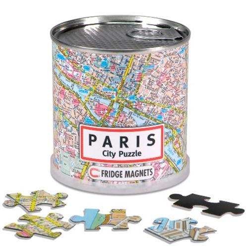 City puzzle paris 100 pieces magnetiques  - Collectif