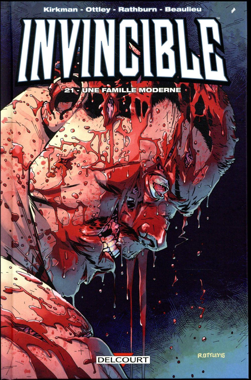 Invincible T.21 ; une famille moderne  - Robert Kirkman  - Ryan Ottley  - Jimmy Beaulieu  - Cliff Rathburn