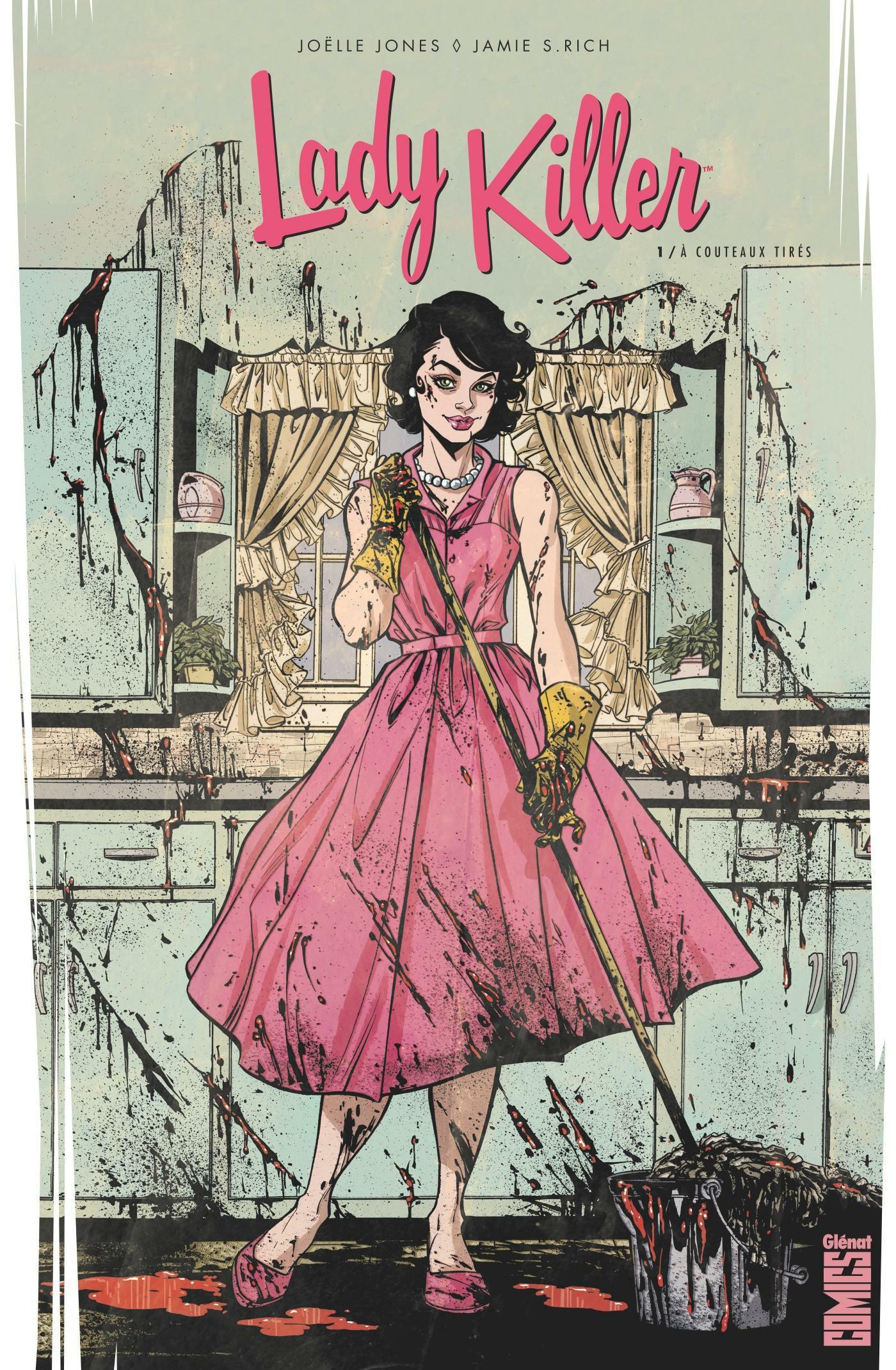 Lady killer T.1 ; à couteaux tirés  - Joelle Jones  - Jamie S. Rich