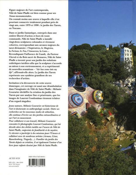 Livre niki de saint phalle le jardin des tarots - Niki de saint phalle le jardin des tarots ...
