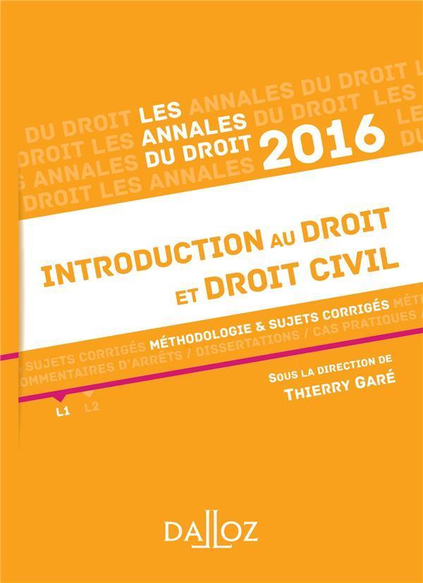Dissertation juridique introduction au droit
