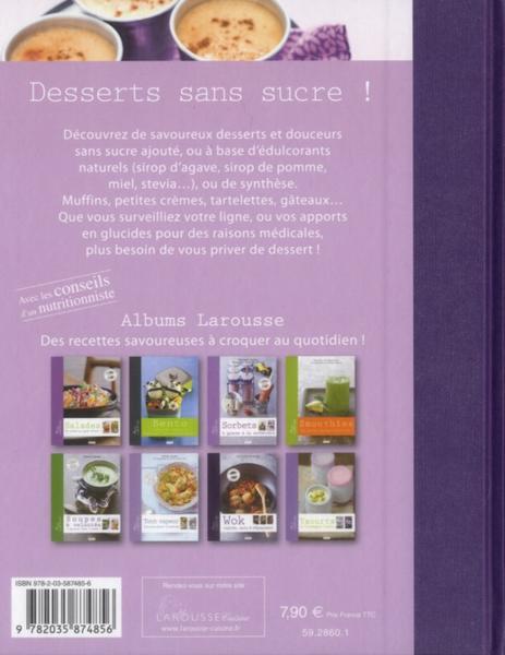livre desserts sans sucre dupuis s. Black Bedroom Furniture Sets. Home Design Ideas