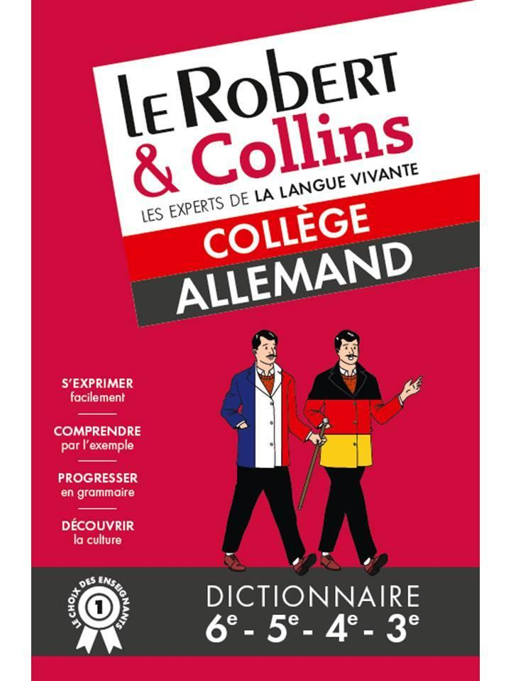 Le Robert & Collins ; collège ; allemand  - Collectif