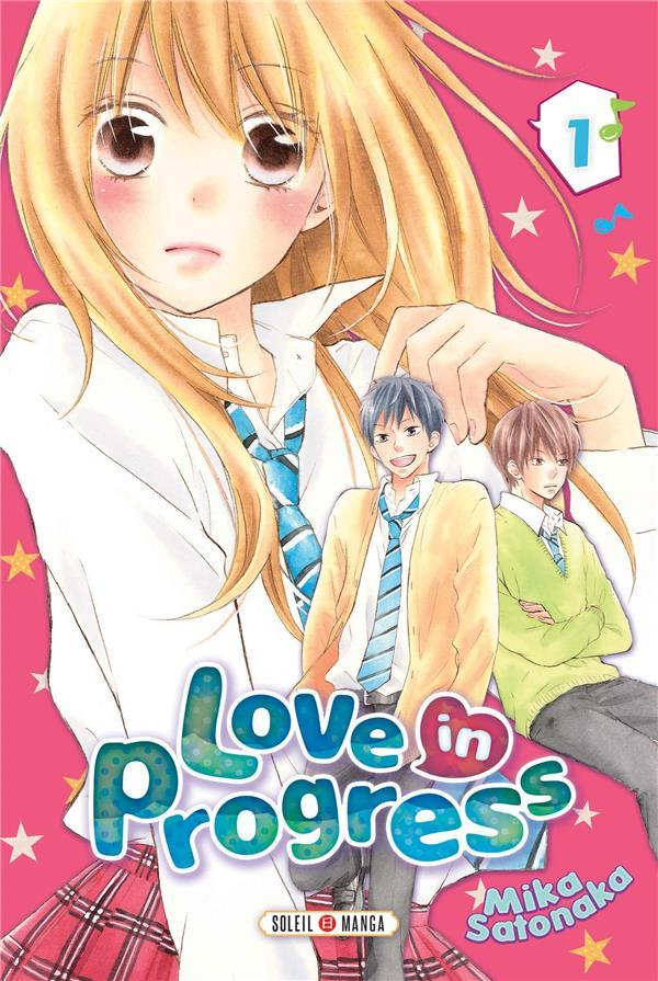 Vente  Love in progress T.1  - Satonaka-M  - Mika Satonaka