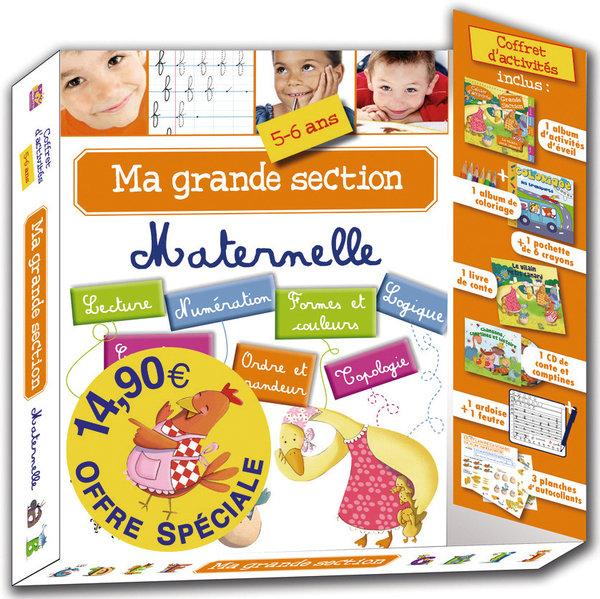 Vente  Coffret ma grande section maternelle  - Collectif