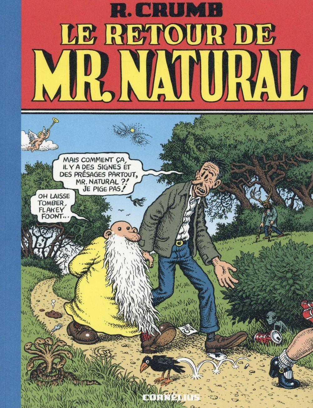Le retour de Mr. Natural  - Robert Crumb