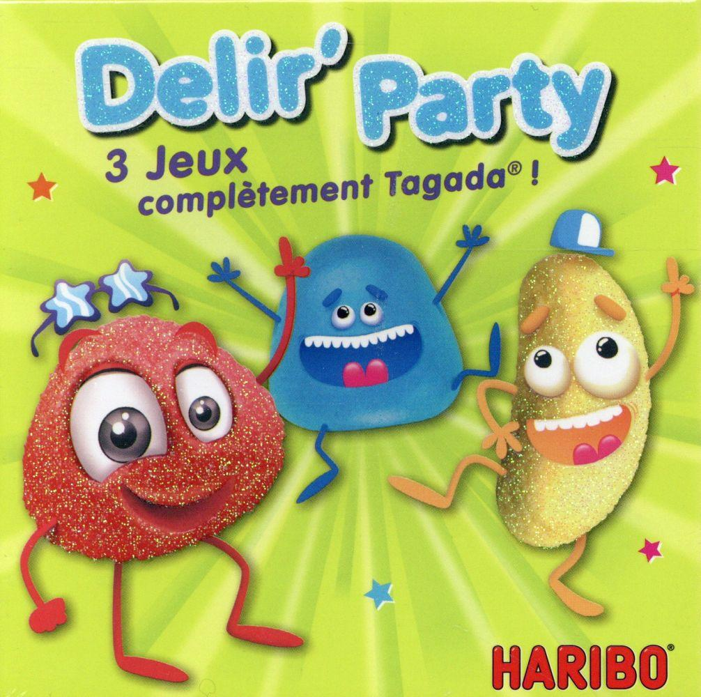 Jeu Haribo ; délir'party  - Collectif
