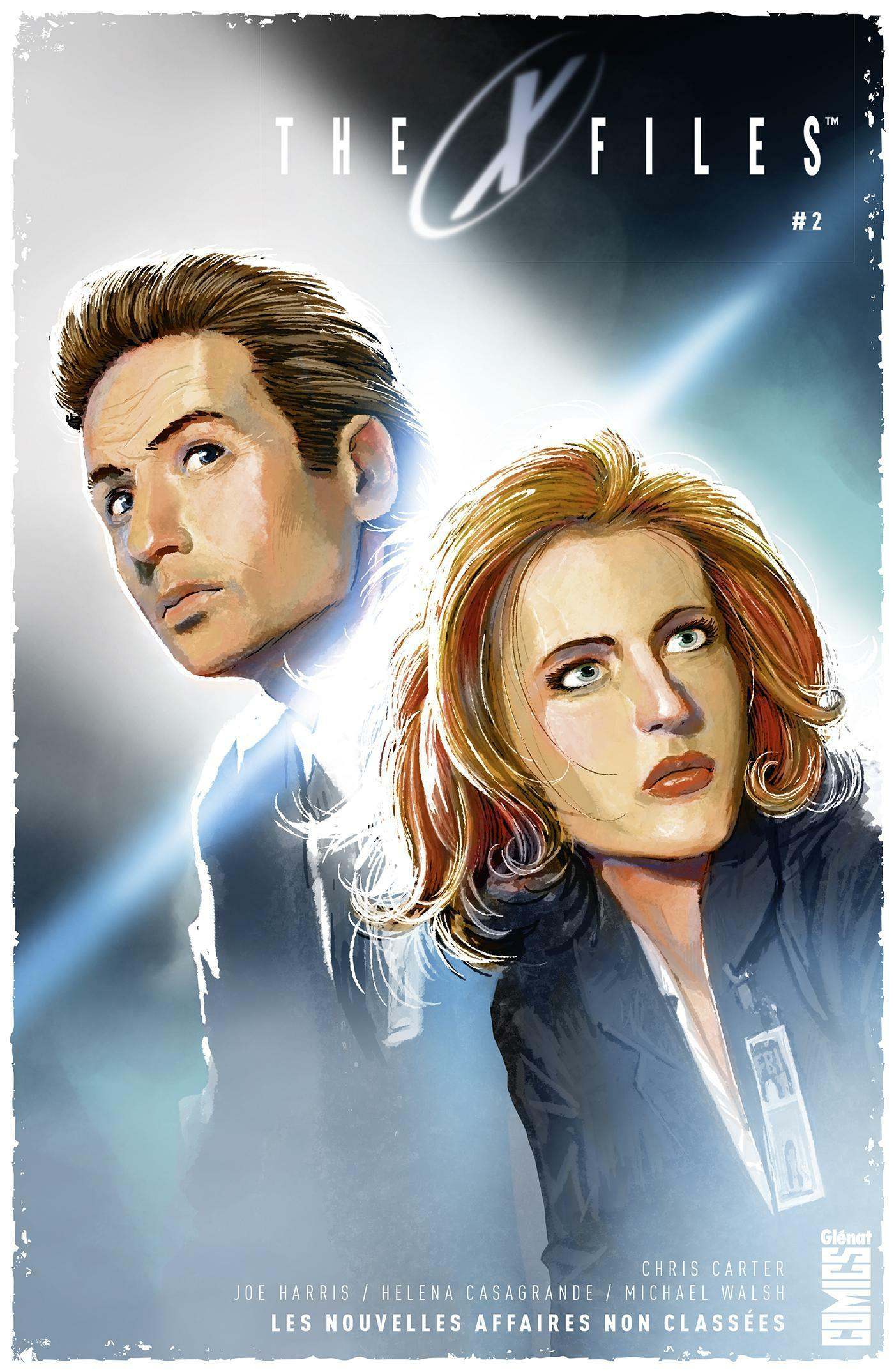 The X-files ; les nouvelles affaires non classées t.2  - Joe Harris  - Michael Walsh  - Elena Casagrande