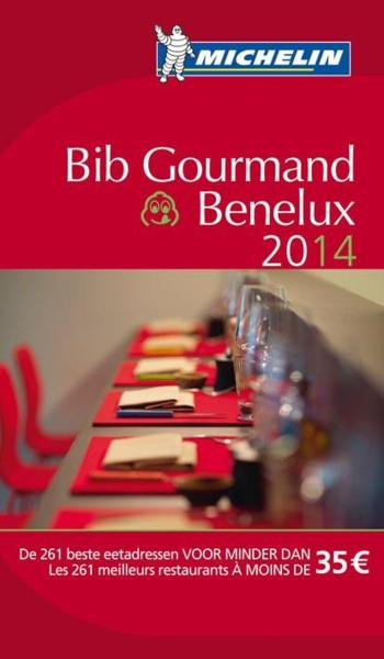 Bib gourmand Benelux (édition 2014)  - Collectif Michelin