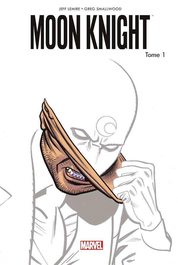 Vente Livre :                                    Moon Knight all-new all-different T.1                                      - Jeff Lemire  - Greg Smallwood