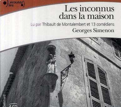 livre les inconnus dans la maison georges simenon