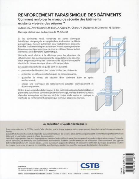 Livre renforcement parasismique des b timents guide for Guide du batiment