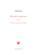 Oeuvres complètes t.1 ; poésies diverses et pensées