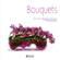 Coffret bouquets : un livre de compositions florales et 4 stickers pour fleurir votre intérieur