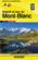 Carte en poche ; massif et tour du Mont-Blanc