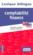 Lexique bilingue de la comptabilité et de la finance ; français-anglais ; anglais-français