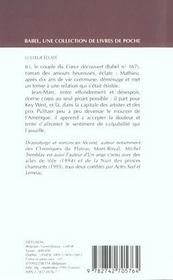 Le Coeur Eclate - 4ème de couverture - Format classique