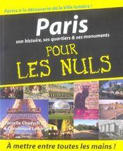 Paris pour les nuls - Intérieur - Format classique