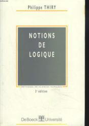 Notions de logique - Couverture - Format classique