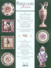 Porcelaine passion ; femmes et fleurs - 4ème de couverture - Format classique