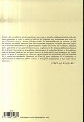 Correspondance générale - 4ème de couverture - Format classique