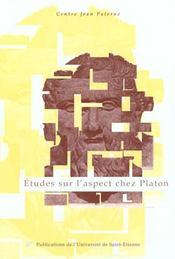Etudes Sur L'Aspect Chez Platon - Intérieur - Format classique