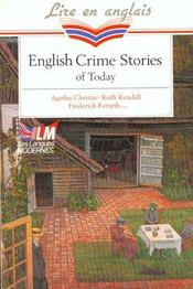 Vente livre :  English crime stories of today  - Collectif