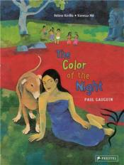 The Color Of The Night Paul Gauguin /Anglais - Couverture - Format classique