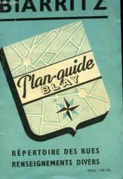 Biarritz - Plan - Couverture - Format classique