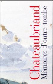 Coffret Chateaubriand ; mémoires d'outre-tombe t.1 et t.2 - Couverture - Format classique