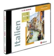 Vente livre :  Coffret 3 CD audio italien ; cycle 4 ; A1 ; A2  - Collectif