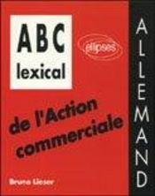 Abc Lexical De L'Action Commerciale Allemand - Intérieur - Format classique