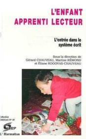 Enfant Apprenti Lecteur - Couverture - Format classique