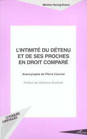 L'Intimite Du Detenu Et De Ses Proches E'N Droit Compare - Intérieur - Format classique