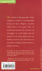 Six larmes pour un abbé - 4ème de couverture - Format classique