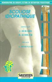 Scoliose idiopathique - Couverture - Format classique