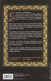 Guenievre t.1 ; l'enfant reine - 4ème de couverture - Format classique