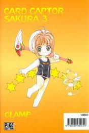Card captor Sakura t.3 - 4ème de couverture - Format classique