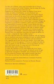 Récits de la Kolyma - 4ème de couverture - Format classique