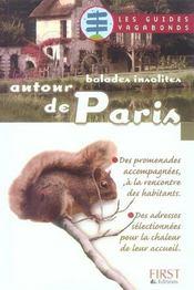 Balades Insolites Autour De Paris - Intérieur - Format classique