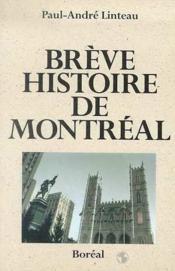 Breve Histoire De Montreal - Couverture - Format classique